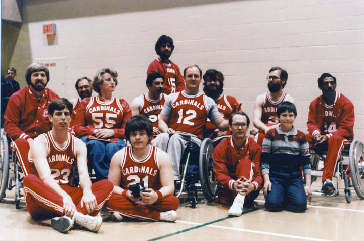 The Cardinals in Toronto in 1982